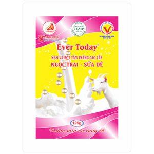 Bột tắm trắng Ngọc Trai và sữa dê