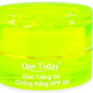 Kem dưỡng trắng da chống nắng SPF 50 cao cấp
